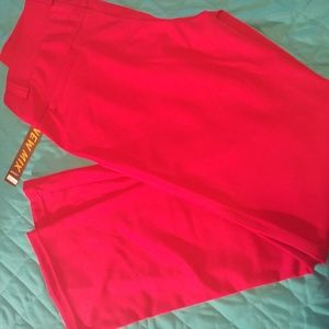 Pants - Cranberry red dress pants